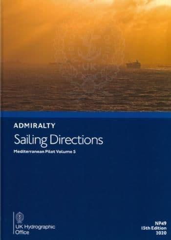 NP49 - Admiralty Sailing Directions: Mediterranean Pilot Volume 5